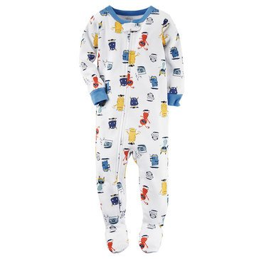 Carter's Baby Boys' Monster Polyester Pajamas
