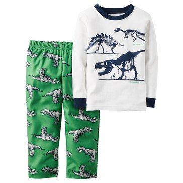 Carter's Baby Boys' Dino 2-Piece Fleece Sleepwear Set