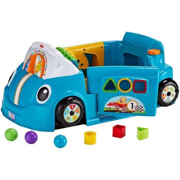 Laugh & Learn Smart Stages Crawl-Around Car, Blue