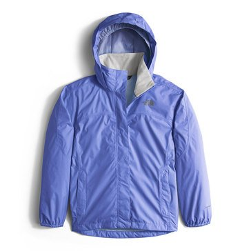 The North Face Big Girls' Resolve Rain Jacket, Blue