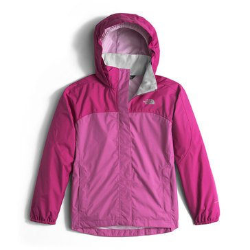 The North Face Big Girls' Resolve Rain Jacket, Roxberry Pink