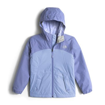 The North Face Big Girls' Warm Storm Rain Jacket, Grape Mist