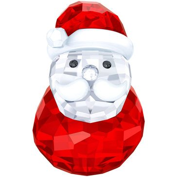 Swarovski Crystal Living Rocking Santa