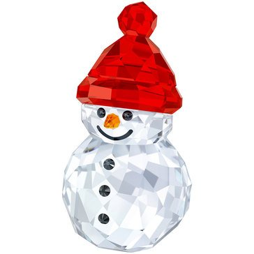 Swarovski Crystal Living Rocking Snowman