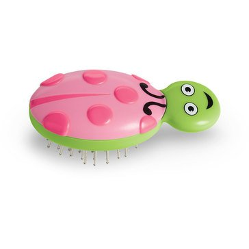 WellieWishers Little Ladybug Brush