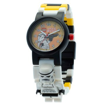 LEGO Kids' Star Wars Stormtrooper Minifig Link Watch