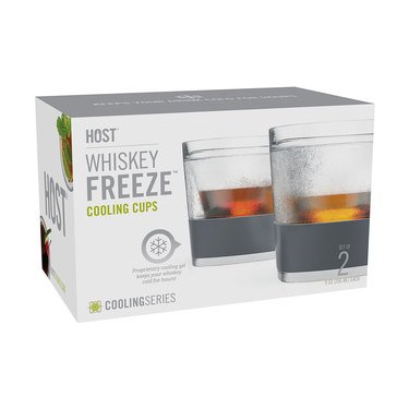 Host Whiskey Freeze Cooling Cups, Set of 2