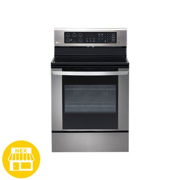 LG 6.3-Cu.Ft. Freestanding Electric Oven, Stainless Steel (LRE3061ST)