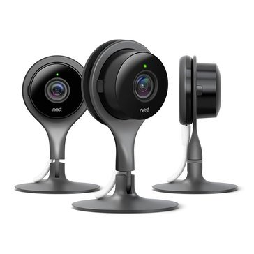 Nest Cam Indoor Security Camera - 3 Pack