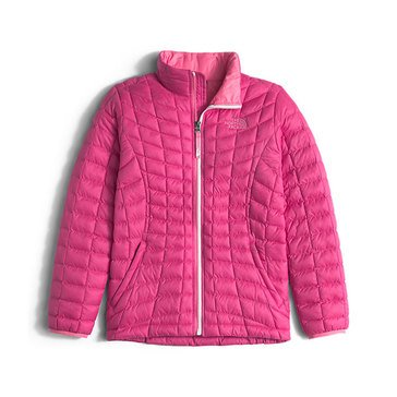 The North Face Big Girls' Thermoball Full Zip Jacket, Pink