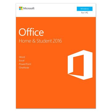 Microsoft Office Home and Student 2016 Medialess P2