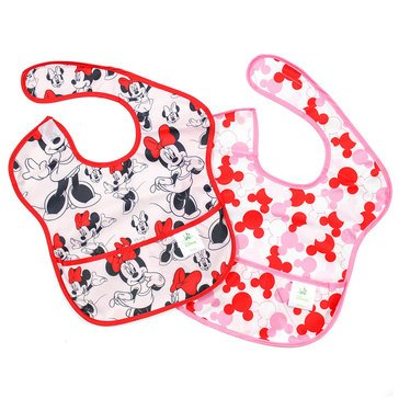 Bumkins SuperBib 2-Pack, Minnie