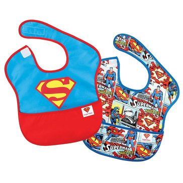 Bumkins SuperBib 2-Pack, Superman