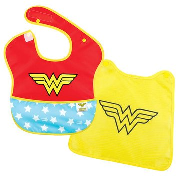 Bumkins SuperBib with Cape, Wonder Woman