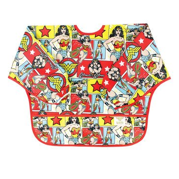 Bumkins Sleeved Bib, Wonder Woman Comic