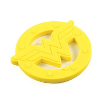 Bumkins Silicone Teether, Wonder Woman