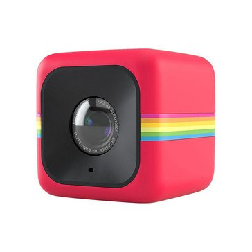 Polaroid Cube Lifestyle Action Camera - Red