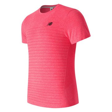 New Balance M4M Seamless Short Sleeve - Red