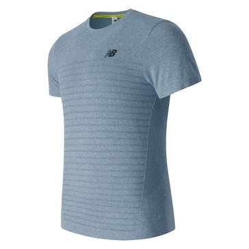 New Balance M4M Seamless Short Sleeve - Light Blue