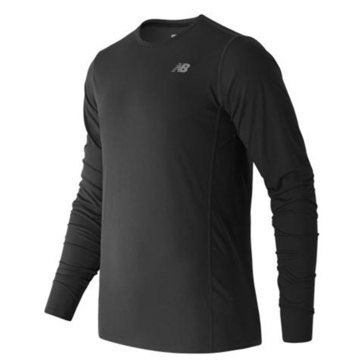 New Balance Men's Accelerate Long Sleeve Tee - Black