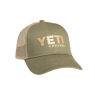 YETI Traditional Trucker Hat - Olive Green