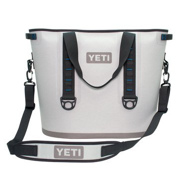 YETI Hopper 40 - Fog Gray / Tahoe Blue