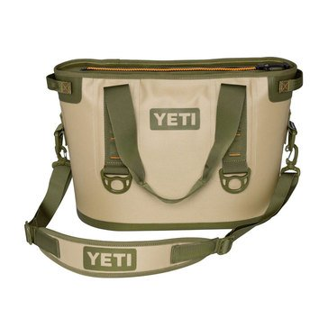 YETI Hopper 20 - Field Tan / Blaze Orange