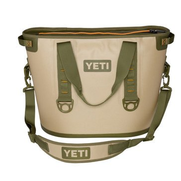 YETI Hopper 30 - Field Tan / Blaze Orange