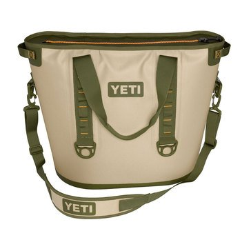 YETI Hopper 40 - Field Tan / Blaze Orange
