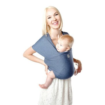 Moby Wrap Bamboo Baby Carrier, Denim