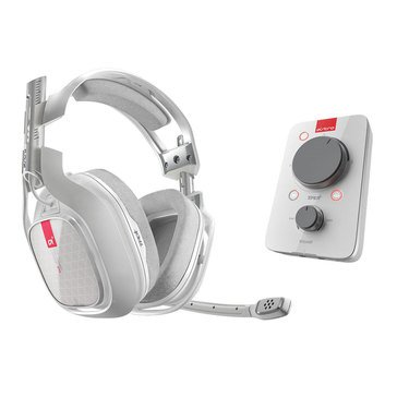 ASTRO A40 TR Gaming Headset + MIXAMP Pro for Xbox One & Windows - White (3AS4T-XOU9W-504)