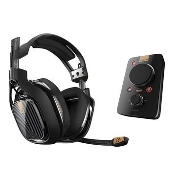 ASTRO A40 TR Gaming Headset + MIXAMP Pro for  PS4, PS3 & Windows - Black (3AS4T-AGU9N-506)