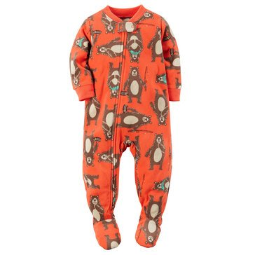 Carter's Baby Boys' Bear Fleece Pajamas