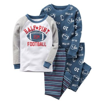 Carter's Baby Boys' Football 4-Piece Sleepwear Set