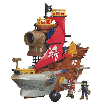 Imaginext Pirate Shark Bite Ship