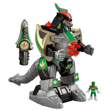 Imaginext Power Rangers Green Ranger & Dragonzord RC