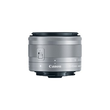 Canon EF-M 15-45mm f/3.5-6.3 IS STM Lens - Silver (0597C002)