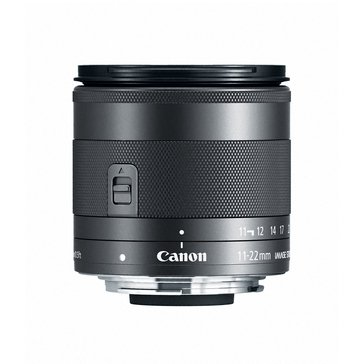 Canon EF-M 11-22mm f/4-5.6 IS STM Lens (7568B002)