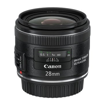Canon EF 28mm f/2.8 IS USM Lens (5179B002)