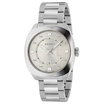 Gucci Men's GG2570 Stainless Steel Bracelet Watch 41mm