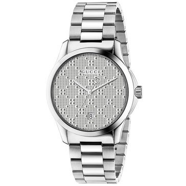 Gucci Men's G-Timeless Stainless Steel Bracelet Watch 38mm