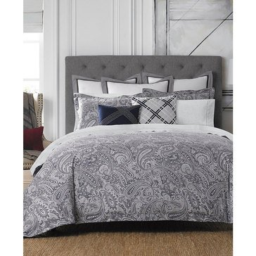 Tommy Hilfiger Josephine Paisley Comforter Set - King
