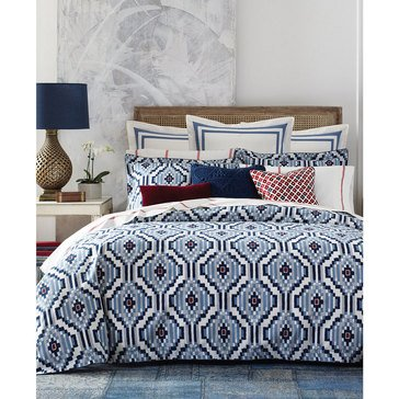 Tommy Hilfiger Ellis Island Ikat Comforter Set - Full/Queen