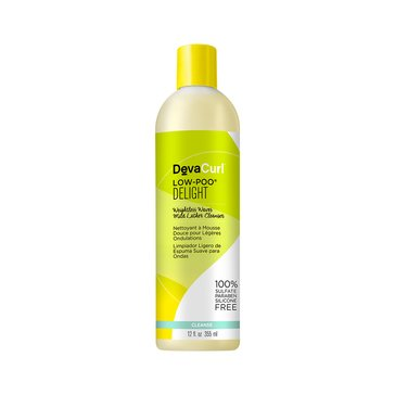 DevaCurl Low-Poo Delight Weightless Waves Mild Lather Cleanser 12oz