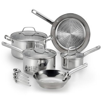 T-Fal Performa 12-Piece Stainless Steel Cookware Set