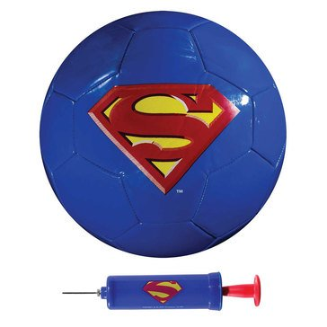 Franklin Size 3 Soccer Ball with Pump - Superman