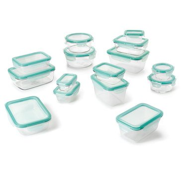 Oxo Good Grips 30-Piece Snap Glass and Plastic Food Storage Set