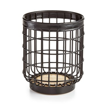 Martha Stewart Collection Black Wire Crock