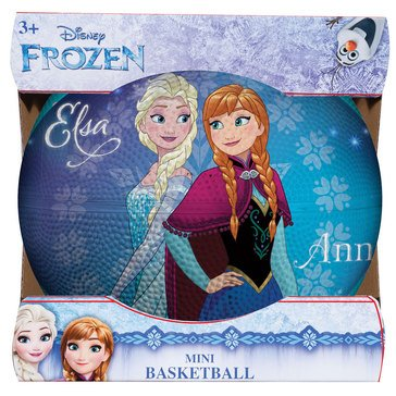 Franklin Mini Rubber Basketball - Frozen