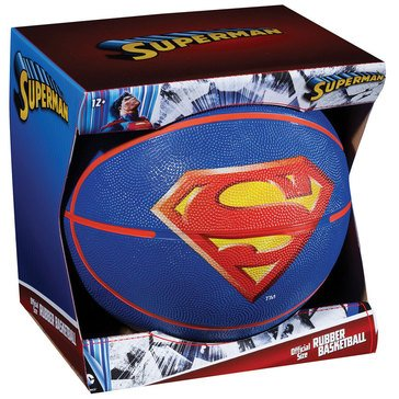 Franklin Official B7 Rubber Basketball - Superman